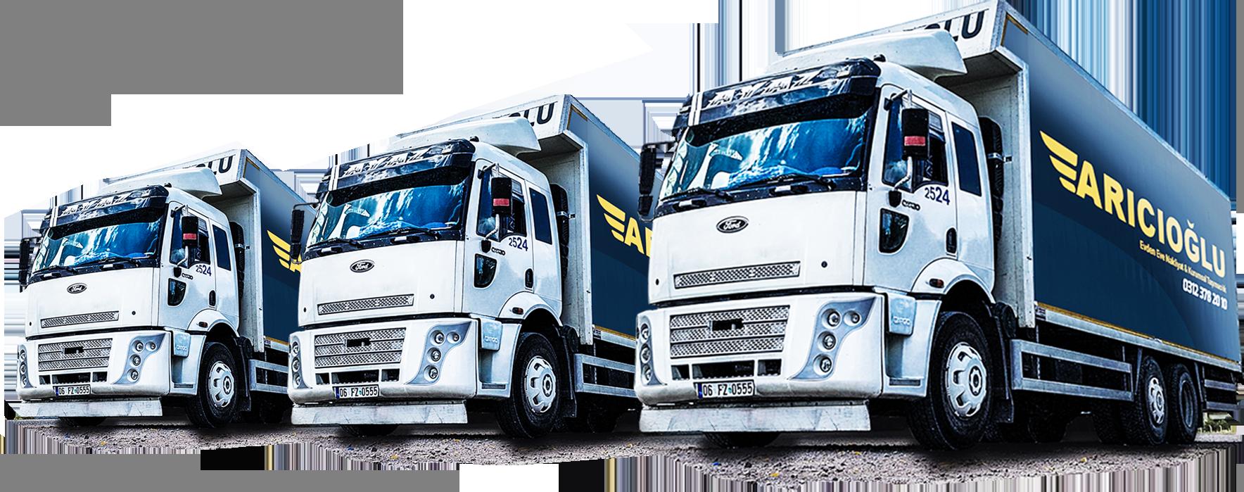 ankara evden eve nakliyat kamyonları